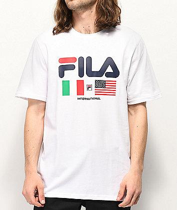 FILA International White T-Shirt