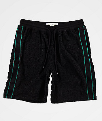 Fairplay Calypso Black Sherpa Shorts