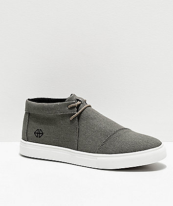 Forwin V3RSA Grey & White Shoes