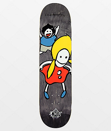 "Foundation Wilson Peaky Peaky 8.0"" Skateboard Deck"