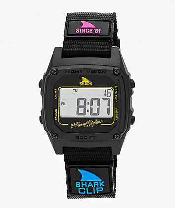 Freestyle Shark Classic Clip Since 81 Black Digital Watch