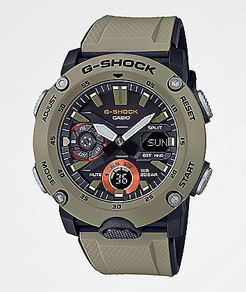 G-Shock GA2000S-5A Khaki Watch
