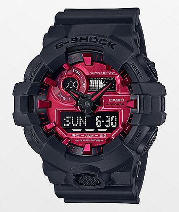 G-Shock GA700 Adrenaline Red & Black Watch