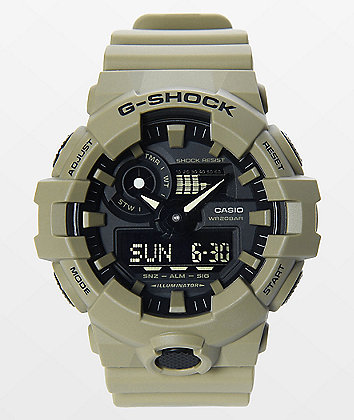 G-Shock GA700-UC Khaki Watch