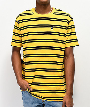 Girl Striped OG Yellow & Black T-Shirt