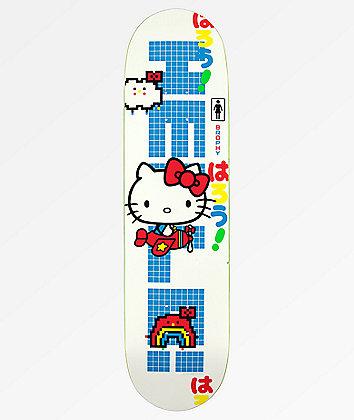"Girl x Hello Kitty 45th Anniversary Brophy 8.0"" Skateboard Deck"
