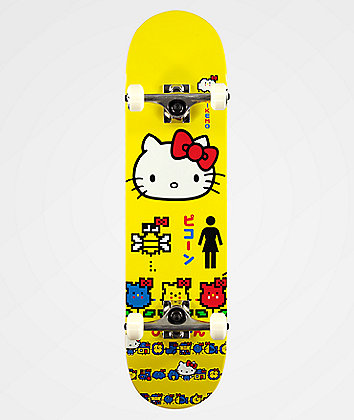 "Girl x Hello Kitty 45th Anniversary Mikemo 8.0"" Skateboard Complete"