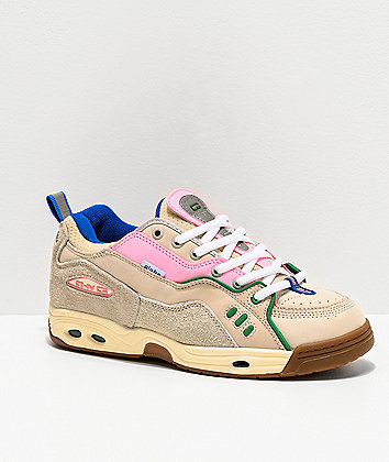 Globe CT-IV Silver, Birch, Pink & Gum Skate Shoes
