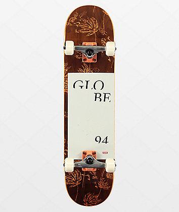 "Globe G2 Typhoon Salmon 7.75"" Skateboard Complete"