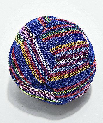 Guatamalart Multicolored Blue Hacky Sack