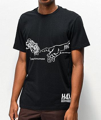 H4X Creation Black T-Shirt