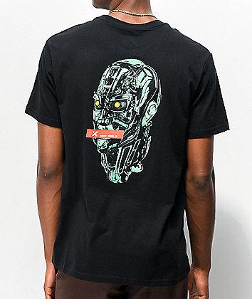 H4X Cyborg Black T-Shirt