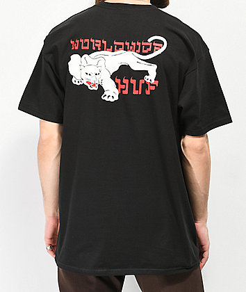 HUF Burmese Black T-Shirt