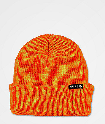 HUF Usual Russet Orange Beanie