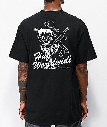 HUF x Betty Boop Martini Black T-Shirt