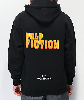HUF x Pulp Fiction Burger Black Hoodie