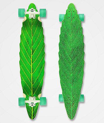 Habitat Leaf Lines Green Longboard