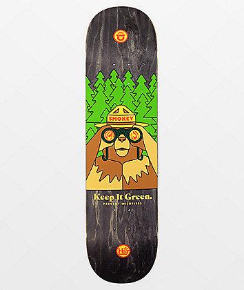 "Habitat x U.S. Forest Service Smokey Bearnoculars 8.12"" Skateboard Deck"