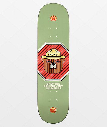 """Habitat x U.S. Forest Service Smokey Wildfires 8.25"""" Skateboard Deck"""