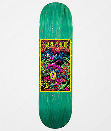 "Happy Hour Black Light 8.38"" Skateboard Deck"