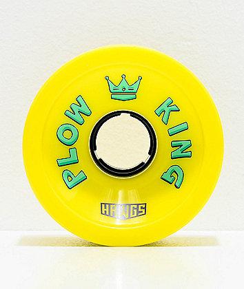 Hawgs Plow King Flat Banana 72mm 78a Longboard Wheels