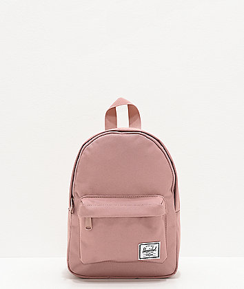 Herschel Supply Co. Classic Rose Print & Black Mini Backpack