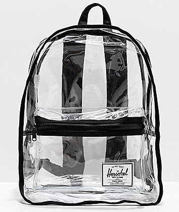 Herschel Supply Co. Classic XL Black & Clear Backpack