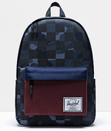 Herschel Supply Co. Classic XL Kaleidoscope Camo Dot Grey Backpack