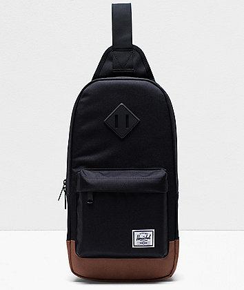 Herschel Supply Co. Heritage Black Shoulder Bag