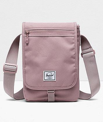 Herschel Supply Co. Lane Messenger Small Ash Rose Crossbody Bag