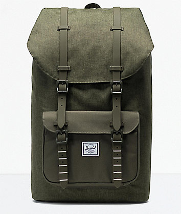 Herschel Supply Co. Little America Olive Night Backpack