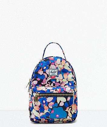 Herschel Supply Co. Nova Painted Floral Mini Backpack