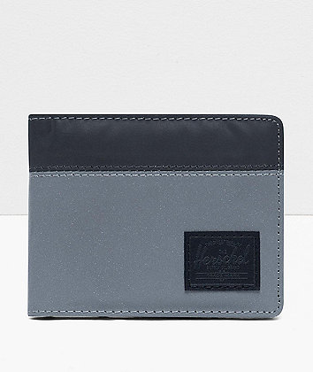 Herschel Supply Co. Roy Silver Reflective Bifold Wallet