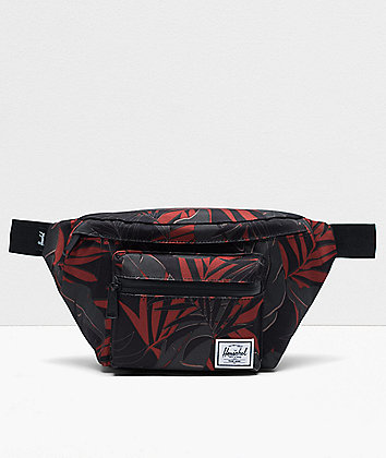 Herschel Supply Co. Seventeen Dark Olive Palm Fanny Pack
