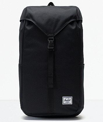 Herschel Supply Co. Thompson Black Backpack