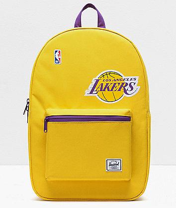 Herschel Supply Co. x NBA L.A. Lakers Settlement Gold & Purple Backpack