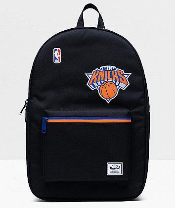 Herschel Supply Co. x NBA NY Knicks Settlement Black, Blue & Orange Backpack