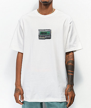 High Company Beeper White T-Shirt