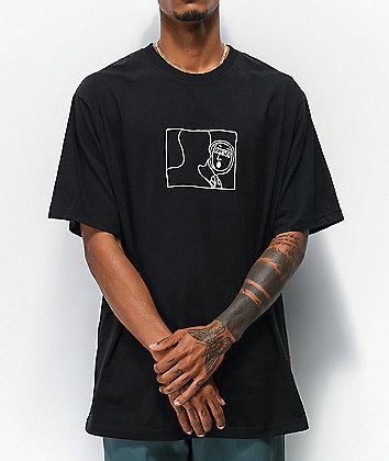 High Company Face Black T-Shirt
