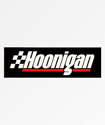 Hoonigan Fastest Lap Sticker