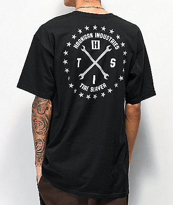 Hoonigan Firing Order Black T-Shirt