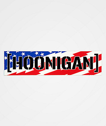 Hoonigan Stars & Stripes Sticker