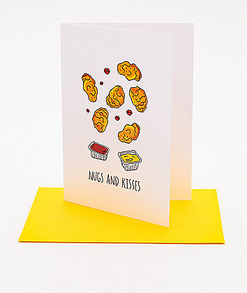 Humdrum Chx Nugs And Kisses Card