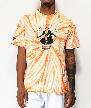 Hypland x Bleach Ichigo Orange Tie Dye T-Shirt