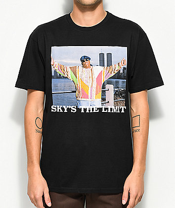 Hypnotize Sky's The Limit Black T-Shirt