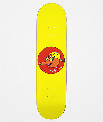 "Illegal Civilization Dino Head 8.0"" Skateboard Deck"