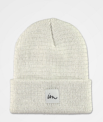 Imperial Motion 1X1 Reflective White Beanie