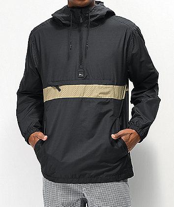 Imperial Motion Fleet Ghost Black Anorak Jacket