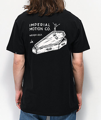 Imperial Motion Still Stoked Black T-Shirt