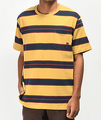Imperial Motion Vintage Mustard Pocket T-Shirt